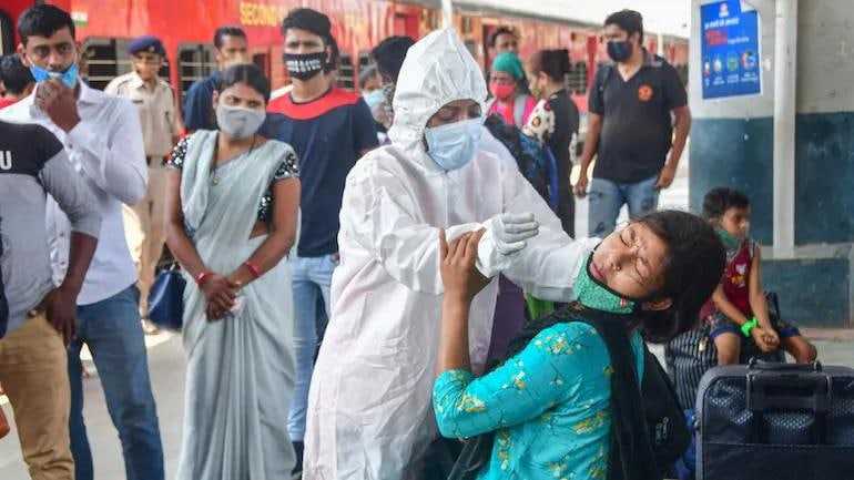 India logs 25,404 new Covid cases, down by 6.8% from yesterday - Coronavirus Outbreak News