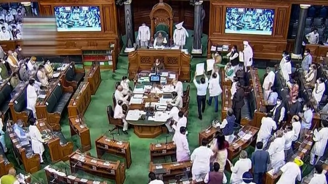 RTI: Did Lok Sabha TV black out Opposition protest during Monsoon Session?