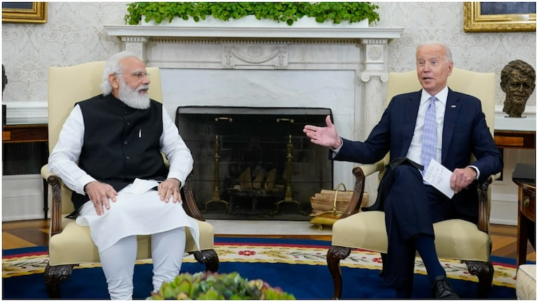Modi-Biden meet: US President Joe Biden mentions Gandhi Jayanti, PM Modi  talks about his trusteeship - India News