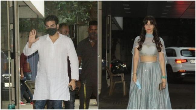 Arbaaz Khan reaches brother Sohail's residence with girlfriend Giorgia for Ganesh Chaturthi