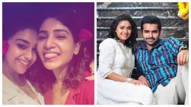Keerthy Suresh celebrates 29th birthday. Samantha and Ram Pothineni wish the actress