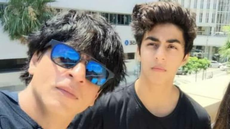 Shah Rukh Khan's son Aryan Khan is currently being questioned in Mumbai cruise drugs case.
