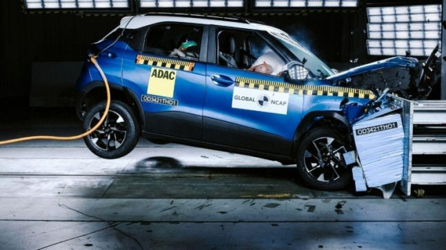 Tata Punch achieves 5-star rating in latest Global NCAP crash test results