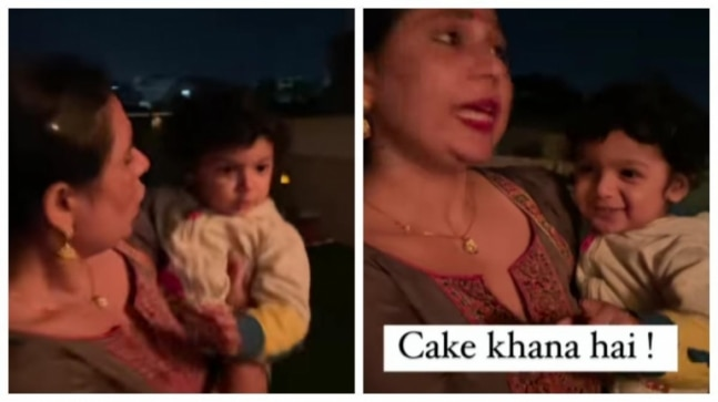 Mom asks son whether he wants to eat roti sabzi. Toddler's reaction is now a viral video