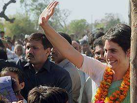 Is Priyanka ready for politics?