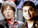 Mick Jagger & Rahman jam for peace