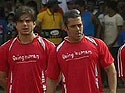 Salman plays football for a cause