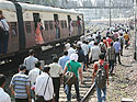 Chaos for Mumbai commuters
