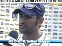 Great to be No. 1: Dhoni | Read Story
