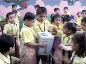 Gujarat: Kids help friend fight cancer