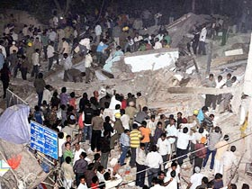 67 killed in Delhi building collapse