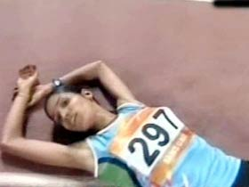 Sudha wins gold in 3000m steeplechase