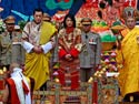 Bhutan King crowns his bride
