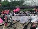 Rail roko stir begins in Telangana