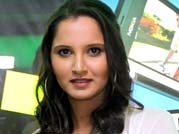 Sania recovering from knee injury