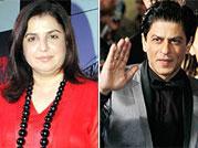 SRK beat up my husband: Farah Khan