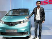 Cars and stars sizzle at Auto Expo