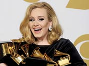 Adele top winner with 6 Grammys