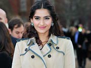 Sonam spotted at London Fashion Week