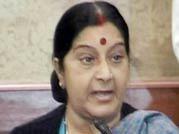 Quota row: Sushma Swaraj takes on Salman Khurshid
