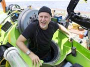 James Cameron dives to earth's deepest point