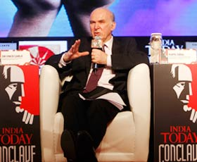 Dr. Vince Cable speaks on capitalism at the India Today Conclave 2012