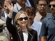 FDI on agenda as Hillary meets Mamata