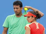 Sania-Bhupathi in French Open final
