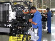 Industrial production growth slows down to just 0.1% in April 2012