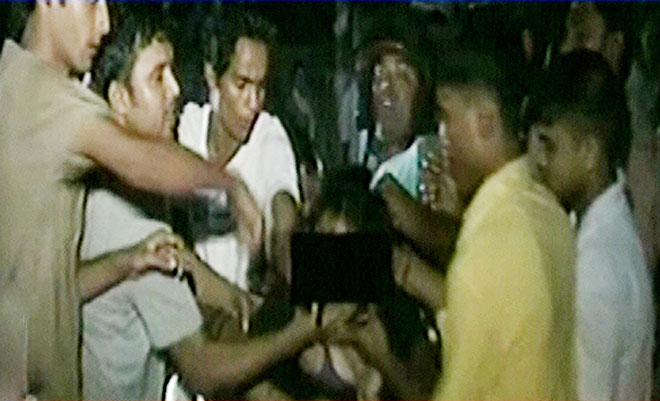 Drunk teen molested after
