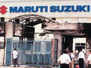 Maruti fires 500 workers for violence