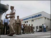 Post violence, Maruti Manesar plant reopens tight security