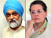 Sonia unhappy with Planning Commission