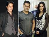 SRK wishes Salman,Katrina good luck for their film