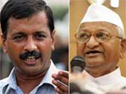 After official split, a bitter battle for legacy starts between Anna and Kejriwal