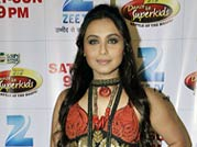 Rani Mukerji promotes Aiyyaa on DID Dance Ke Superkids