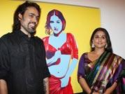 Vidya Balan- the painters' muse