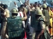 Police lathicharge protesters in MP