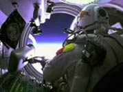 Felix lands safely after record-breaking skydive
