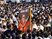 Nearly 20 lakh people join the funeral procession of Bal Thackeray