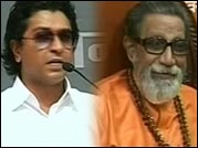 Raj meets uncle Bal Thackeray; Merger in offing?