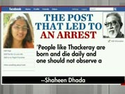 Girls arrested for FB post on Bal Thackeray