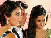 Three Khans at the same event: The star-studded premier of Jab Tak Hai Jaan