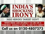 Crores spent on Kasab, no money for 26/11 heroes?