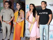 Salman-Sonakshi on a promotional spree for Dabangg 2