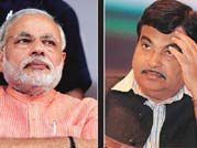 Will Narendra Modi win sweep Nitin Gadkari away?