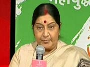 Will decide PM candidate at the right time, says Sushma Swaraj