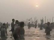Millions take holy dip at Maha Kumbh