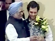 Congress celebrates Rahul Gandhi's appointment as Vice President