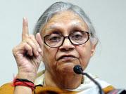 Delhi CM Sheila Dikshit faces India